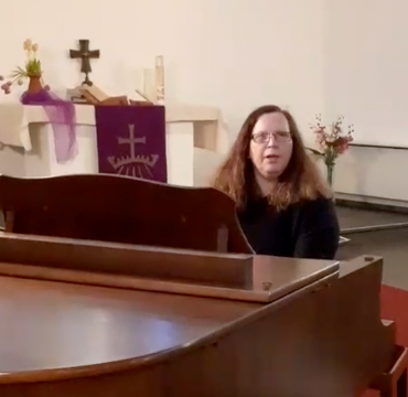 Singen in der Kirche