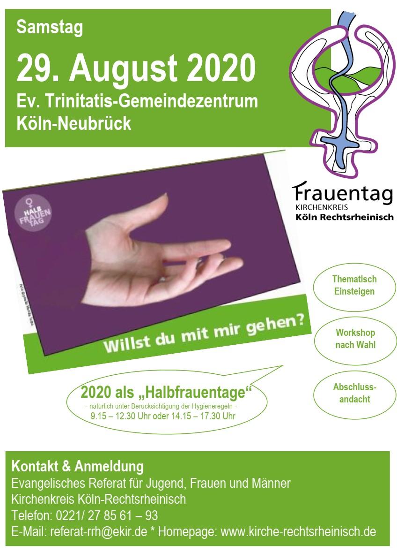 Der Kirchenkreis Köln Rechtsrheinisch lädt alle Frauen herzlich ein!