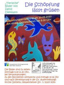 Neue Ausstellung in der Auferstehungskirche Ostheim am 20. September