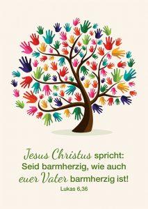 Predigt zum Neuen Jahr über die Jahreslosung Lukas 6,36