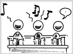 Musik hält wieder Einzug – Teil 1: Chor